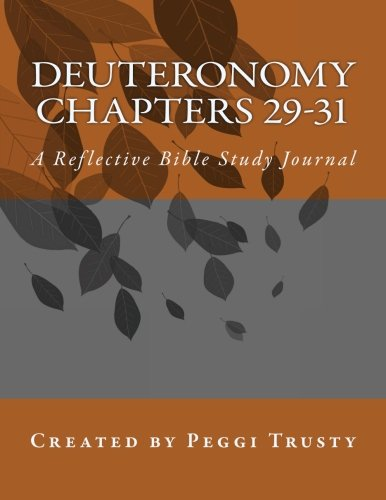 Download Deuteronomy, Chapters 29-31: A Reflective Bible Study Journal (The Reflective Bible Study Series) PDF