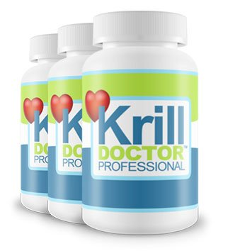 1200mg High Strength Krill Oil Per Serving Triple Pack - Sourced from the Antarctic Ocean, As seen in Dr Hilary Jones Live to 100 by Krill Doctor
