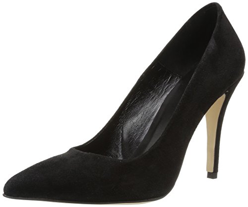 Destiny Jonak negro negro de cuero mujer Vestir de Zapatos dqaBr0qH