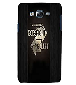 PrintDhaba Quote D-4945 Back Case Cover for SAMSUNG GALAXY J5 (Multi-Coloured)