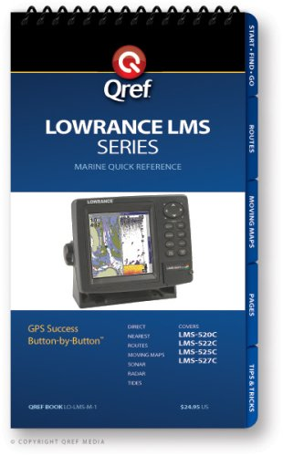 (Lowrance LMS Series Qref Checklist (Qref Marine Quick Reference) )