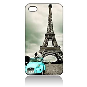 Eiffel Tower Paris Hard Case Cover Skin for Iphone 4 4s Iphone4 At&t Sprint Verizon Retail Packing by icecream design