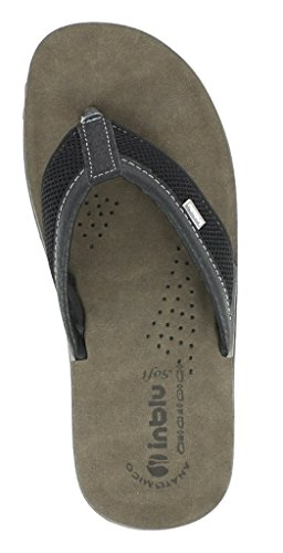 Sintético Por De 42 Hombre Zapatillas Negro Estar Para Inblu Material Casa qtYgnCw