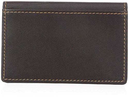 Dopp Men's Regatta Business Card Holder, Mahogany, One Size ()