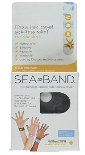Sea-Band For Children Wristband 1 Pair Blue by Sea-Band