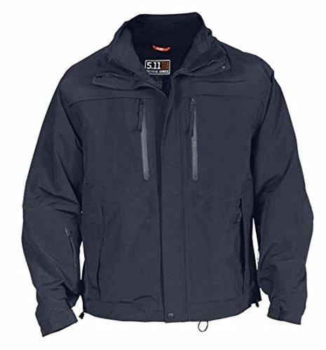 Outerwear 5.11 Tactical Jackets (5.11 Men's Valiant Duty Jacket, Dark Navy, Medium)