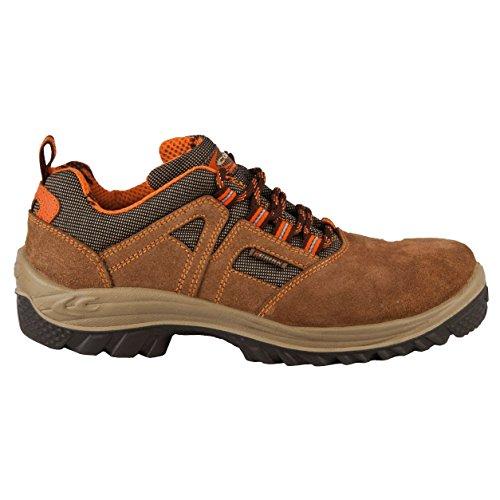 Cofra 63680 - 000.w46 Taille 46 S1 P Src Chaussures De Sécurité Puglia, Couleur: Marron