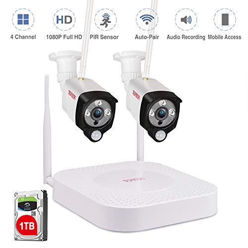 Tonton 1080P Full HD Wireless Expandable Security Camera