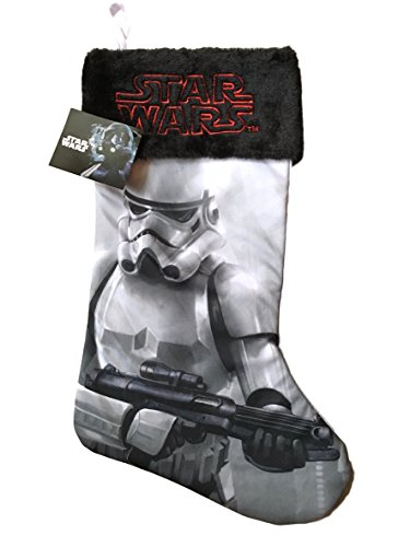 Disney Christmas Stocking Star Wars Storm Trooper (Christmas Silk Stocking)