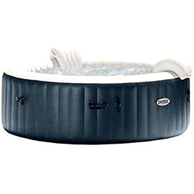 Intex PureSpa Plus Bubble Massage Set, Blue/White