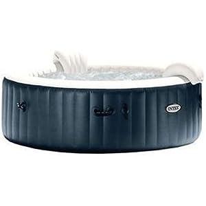 Intex PureSpa Plus Bubble Massage Set, Blue/White