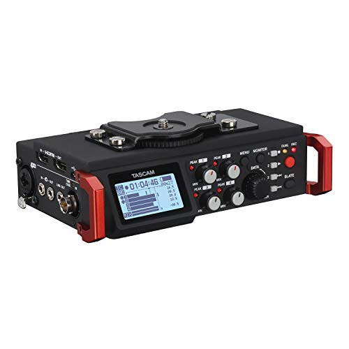 Tascam DR-701D 6-Track Portable Audio Recorder for DSLR Camera