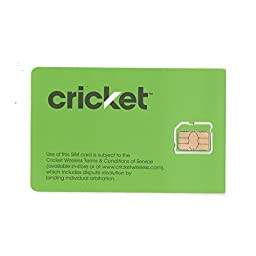 Cricket 4G Smart Phone micro SIM card