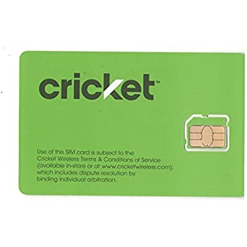 Amazon.com: Cricket Wireless 3-in-1 SIM Card Kit: Seaside NY