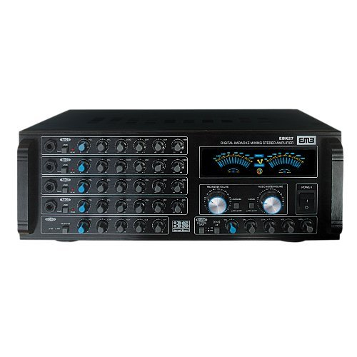 EMP Professional EBK27 900W HI-FI Stereo Amplifier Remote/Bluetooth/USB/SD/FM Radio / MP3 / WMA Player