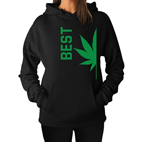 Best Buds   Gift for Best Friends Day! - Women's Hoodie Large Black