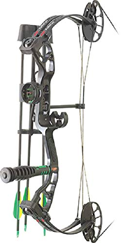 PSE Archery, Mini Burner Compound Bow, Black, Right Hand, 40#