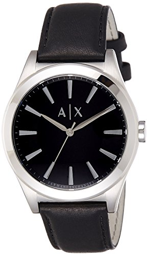 Armani-Exchange-Mens-AX2323-Black-Leather-Watch
