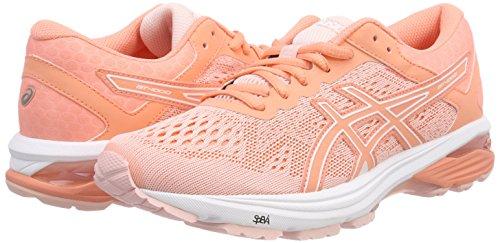 Running Chaussures seashell De Pink Gt Asics 1706 1000 Pink Femme 6 Rose begonia white FxXwTS