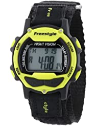 Freestyle Unisex 102283 Predator Sport Watch with Black Nylon Band