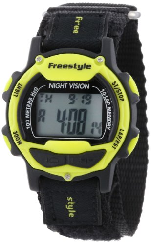 """Freestyle Unisex 102283 """"Predator"""" Sport Watch with Black..."""