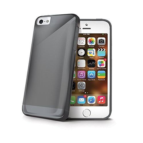 Celly Gelskin Cover Apple iPhone SE black