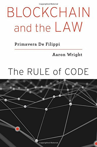 Read Online Blockchain and the Law: The Rule of Code pdf