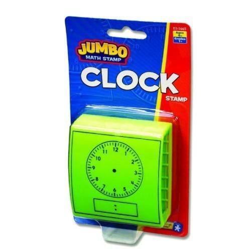 Educational Insights Jumbo Clock Stamp
