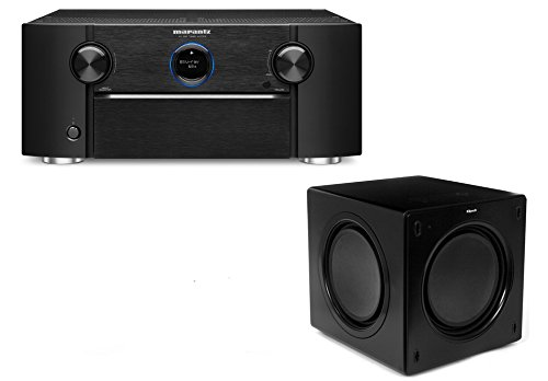 Marantz AV7703 Home Theater Preamp/Processor with 11.2 Channel Processing and Dolby Atmos with Klipsch SW-311 Subwoofer by Marantz&Klipsch