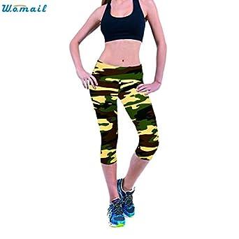 Amazon.com: CUSHY Womail Yoga Running Pant Gift Woman Port ...