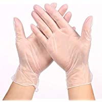 Valpeak US Stock Disposable Gloves Latex Free Powder Free, Disposable Plastic Gloves for Cooking,Cleaning, Hair Coloring…