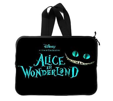 """Alicia en el país de las maravillas gato de Cheshire nuevo funda para portátil 14 """""""