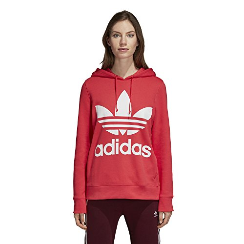 Hoodie Adidas Trefoil (adidas Originals Women's Trefoil Hoodie, Core Pink, X-Large)