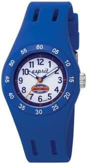 Esprit Kids' ES103464001 Fun Racer Blue Rubber Watch
