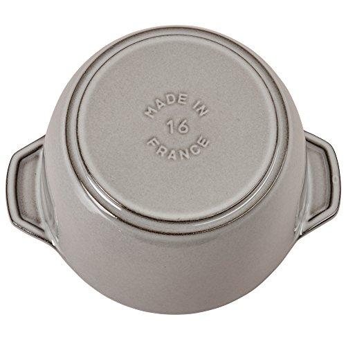 Staub Cast Iron Petite French Oven (1.5-qt, Graphite Grey) by Staub (Image #4)