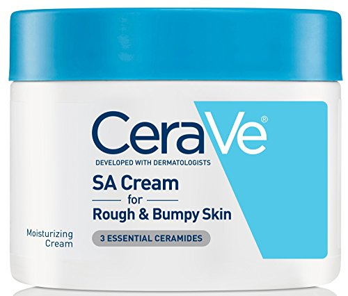CeraVe SA Cream, Renewing Salicylic Acid Body Cream for Rough and Bumpy Skin, Fragrance Free, 12 Ounce