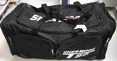 New Sherwood T90 senior ice hockey goalie bag black large sr
