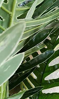 Branch Decor - 70 cm Real Touch Silk Artificial Tree Tropical Fake Tree Home Garden Decor No Pot