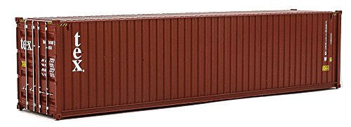 Walthers SceneMaster 40' Hi-Cube Corrugated Container Tex - Assembled Train Collectable ()