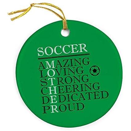 amazon com venus50lizz mother words christmas ornament soccer