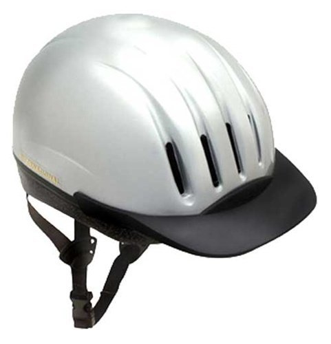 - Equi-Lite Helmet with Dial-Fit-System, Silver, Medium