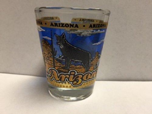 Arizona State Wraparound Shot Glass