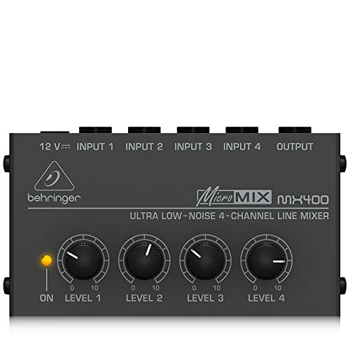 Behringer Micromix MX400 Ultra Low-Noise