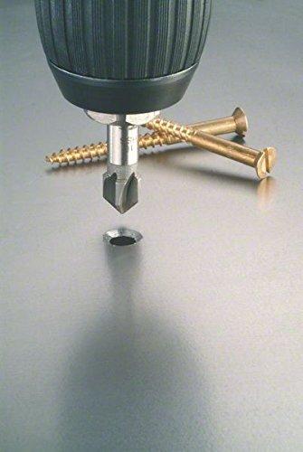 Silver 16 x 48 x 10 mm Bosch 2608596372 Countersink HSS 16,0x48x10