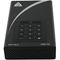 Apricorn Aegis Desktop 2 TB FIPS 140-2 Validated 256-Bit Encrypted Hard Drive (ADT-3PL256F-2000)