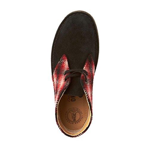 Clarks Desert Originals Rosso Donna Stivali Boot vRBCxqvwa