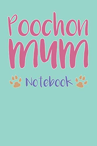 Poochon Mum Composition Notebook of Dog Mum Journal