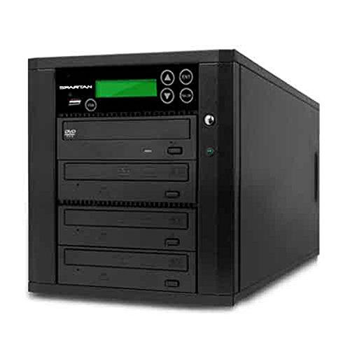 Spartan Duo Duplicator USB Flash Memory to 3 Disc Duplicator / Media Converter with Select Source Key Button D903-SSP by Spartan (Image #1)