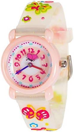 子供用腕時計 3D 可愛い 防水 シリコン 子供 幼児 腕時計 タイムティーチャー 誕生日 ギフトケース