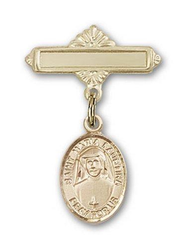 Icecarats Or Bijoux De Créateurs Rempli R. Maria Charme Faustina Broche De Badge 1 X 5/8